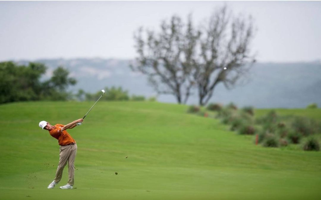 Which former-Dallas area high school golfers will be playing for their college teams on May 31?