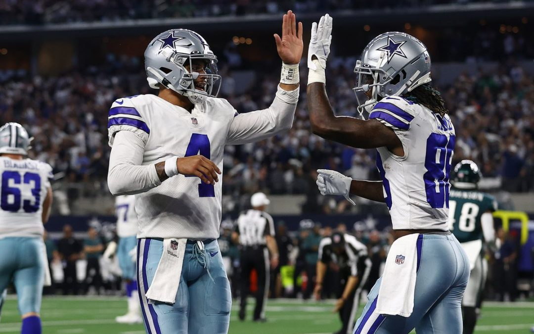 Cowboys Lead the NFC East, Sophomore Stars Make Significant Impact
